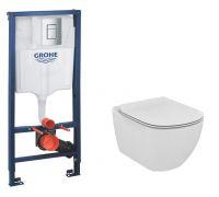 Комплект: инсталляция grohe 38772001 + унитаз Ideal Standard Tesi T007901