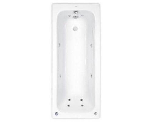 Аэро- и гидромассажная ванна Poolspa Klio 170x70 Economy 2