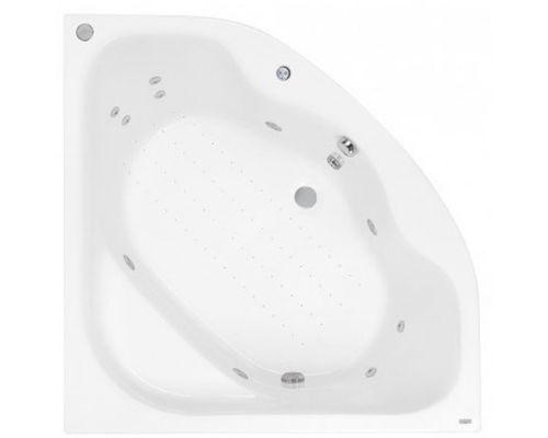 Аэро- и гидромассажная ванна Poolspa Klio Sym 140x140 Economy 2