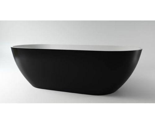 Ванна каменная Holbi Venus Solid Surface 170x80 белый / RAL