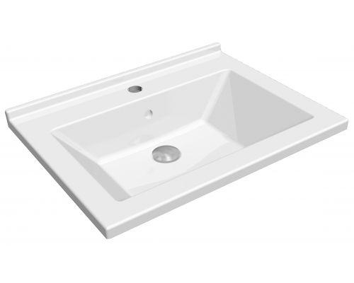 Раковина мебельная IDevit Merkur 46x60, 0201-5605