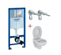 Комплект: инсталляция grohe 38772001 + унитаз IS  Eurovit K881201