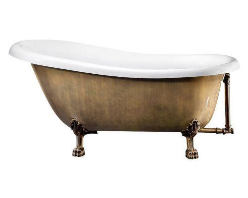 Акриловая ванна BelBagno BB04-BRN/BIA бронза