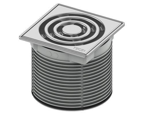 Решетка Tece TECEdrainpoint S 366 00 02 с монтажным элементом