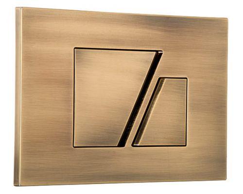 Кнопка смыва Sanit S707 16.707.D2 бронза