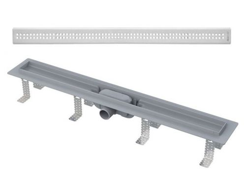 Душевой лоток AlcaPlast APZ9-Simple 750 с решеткой и опорами