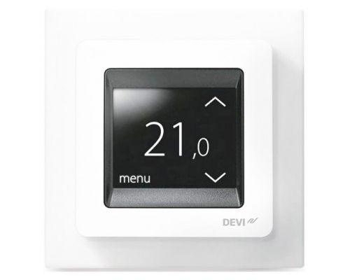Терморегулятор Devi Touch полярно-белый (polar white)