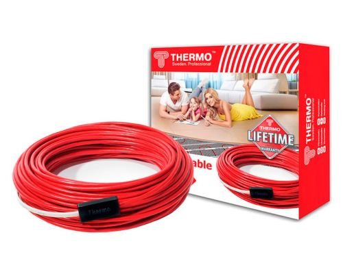 Теплый пол Thermo Thermocable SVK-20 22 м