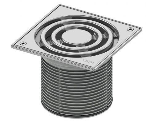 Решетка TECE TECEdrainpoint S 366 00 10 с монтажным элементом и фиксаторами