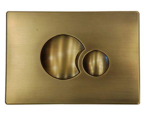 Кнопка смыва Sanit S706 16.706.D2 бронза