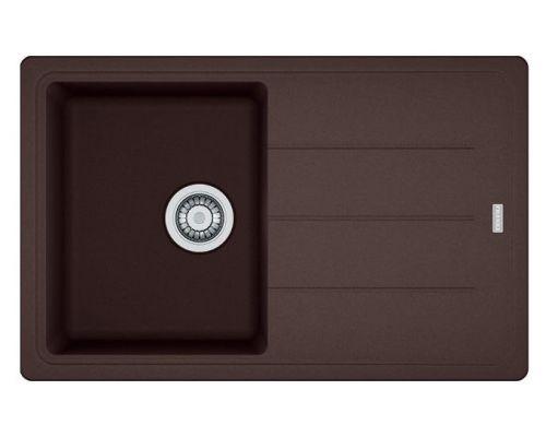 Мойка кухонная Franke Basis BFG 611 шоколад