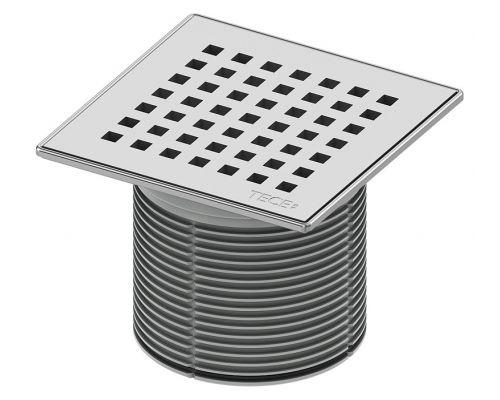 Решетка TECE TECEdrainpoint S 366 00 08 quadratum с монтажным элементом