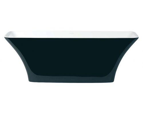 Ванна из искусственного камня Victoria+Albert Ravello black