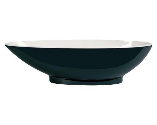 Ванна из искусственного камня Victoria+Albert Napoli black