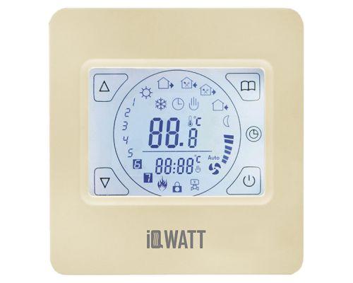 Терморегулятор IQ Watt Thermostat TS кремовый