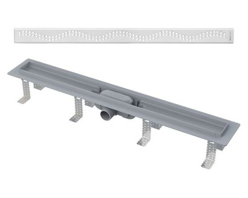 Душевой лоток AlcaPlast APZ8-Simple 750 с решеткой и опорами