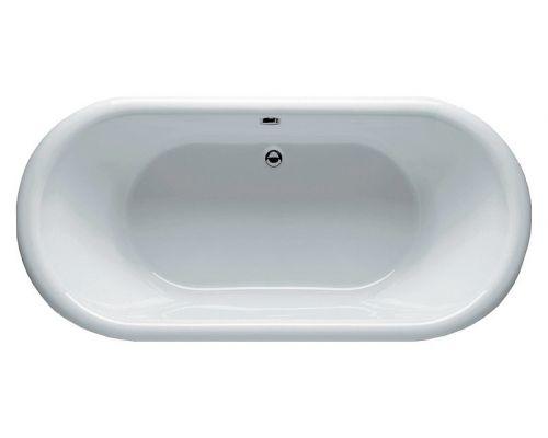 Акриловая ванна Riho Dua 180 черная панель