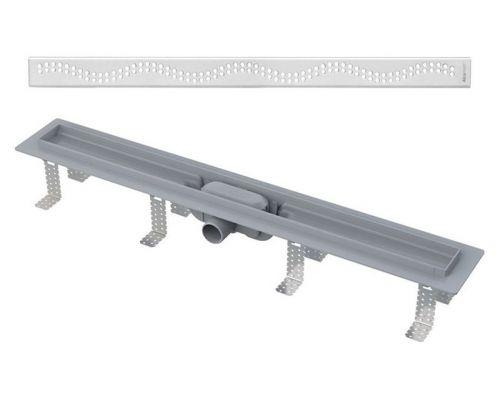 Душевой лоток AlcaPlast APZ8-Simple 850 с решеткой и опорами