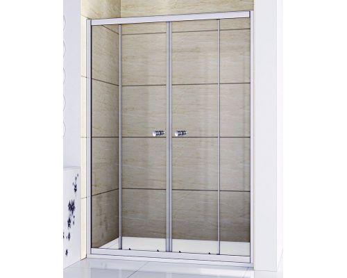 Душевая дверь в нишу RGW Classic CL-10 140x185 стекло чистое