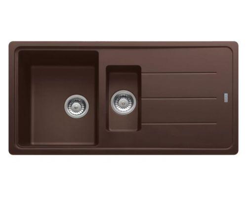 Мойка кухонная Franke Basis BFG 651 шоколад