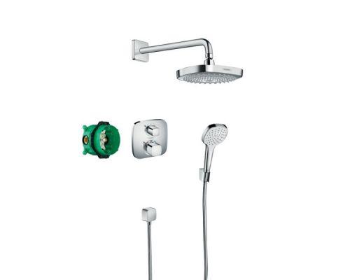 Комплект скрытого монтажа Hansgrohe Croma Select E/Ecostat, 27294000