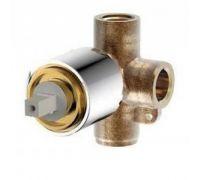 Скрытая часть смесителя Bravat D999CP-RUS на 1 поток