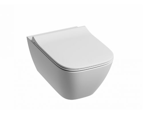 Подвесной унитаз Kolo Modo Pure Rimfree с сиденьем микролифт (L33123000+L30115000)