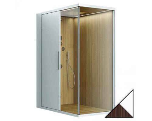 Душевая кабина Am.Pm Admire Suite 140x100 L пристенная, с баней