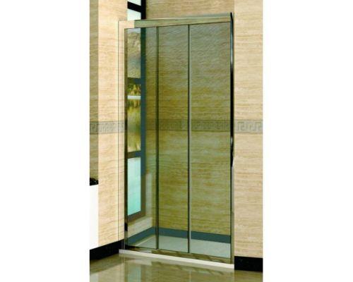 Душевая дверь в нишу RGW Classic CL-11 115х185 профиль хром, стекло шиншила