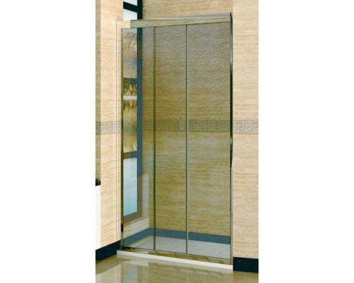 Душевая дверь в нишу RGW Classic CL-11 100х185 профиль хром, стекло шиншилла