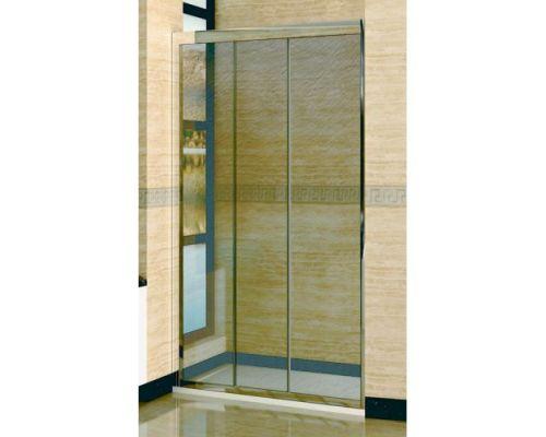 Душевая дверь в нишу RGW Classic CL-11 120х185 профиль хром, стекло шиншилла
