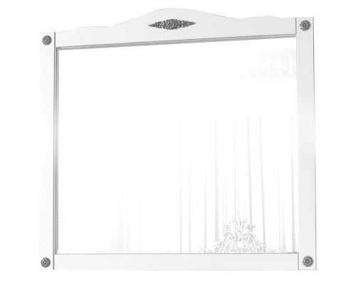 Зеркало Belux Империя 105 белый