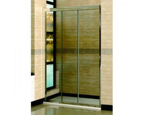 Душевая дверь в нишу RGW Classic CL-11 140х185 профиль хром, стекло прозрачное