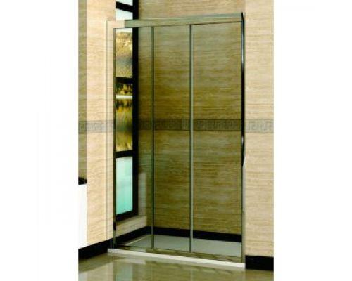 Душевая дверь в нишу RGW Classic CL-11 135х185 профиль хром, стекло прозрачное