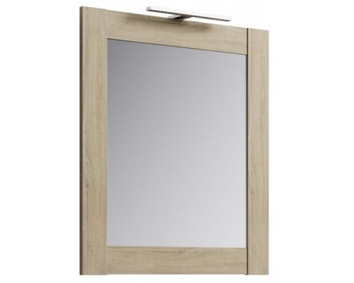 Зеркало Aqwella Simphony Sim.02.07/DS 70 см, цвет - дуб сонома