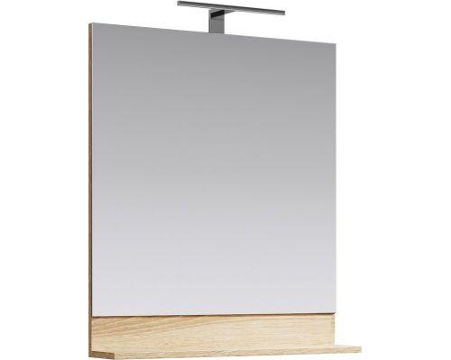 Зеркало Aqwella Фостер 70 FOS0207DS 70 см с полочкой
