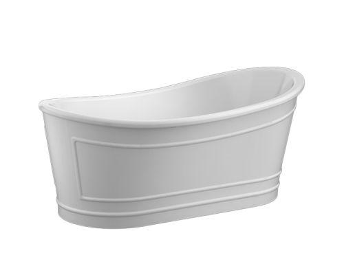 Ванна акриловая BelBagno BB32-MATT 170 х 90 см, матовая поверхность