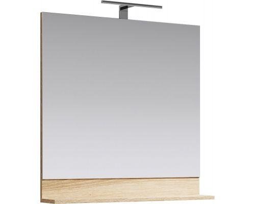 Зеркало Aqwella Фостер 80 FOS0208DS с полочкой