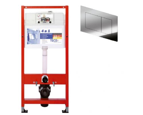 Система инсталляции для унитазов с кнопкой Tece 9 400 401