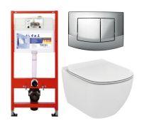 Комплект: инсталляция Tece 9.400.005 + унитаз Ideal Standard Tesi T007901