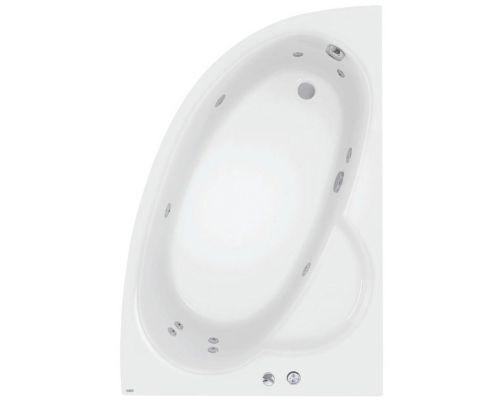 Аэро- и гидромассажная ванна Poolspa Klio Asym 150x100 R Economy 1