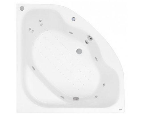 Аэро- и гидромассажная ванна Poolspa Klio Sym 133x133 Economy 2