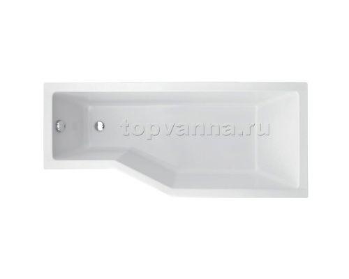 Акриловая ванна Besco Integra R\L 170x75 (угловая)