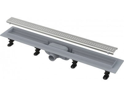 Душевой лоток AlcaPlast APZ9-Simple 650 с решеткой и опорами