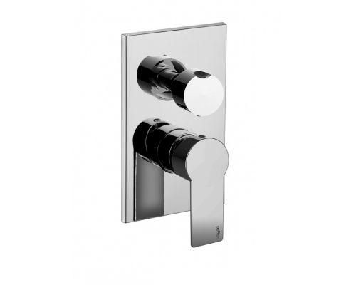Встраиваемый смеситель для ванны с душем Paffoni Tango TA019CR (3 потребителя)
