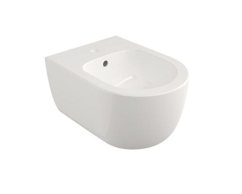 Биде подвесное Bocchi V-Tondo Compacto 49 см 1487-001-0120, белое