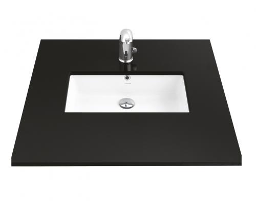 Умывальник TP прямоугольный врезной под столешницу 38*51 см, белый, TP738-00CB00E-0000
