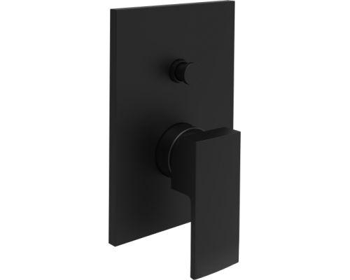 Встраиваемый смеситель для ванны с душем (черный матовый) Paffoni Elle EL015NO