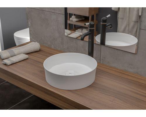 Раковина Bocchi 1478-001-0125, белая 38x38 см