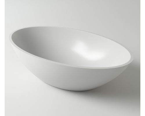 Раковина Holbi Dione, 60x36, из Solid Surface